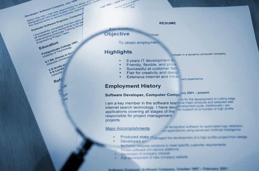 How To Get Resume Through Scanning Programs
